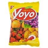 Jelly Yoyo Gummy Mix Fruit 80 G. Thailand Product