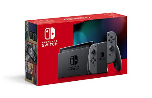 Nintendo Switch - Consola color Gris (Modelo 2019)