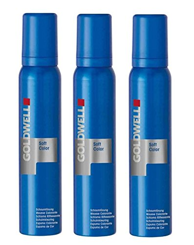 Goldwell Colorance Soft Color 10P pastell perl-blond 3 x 125 ml Schaum-Tönung