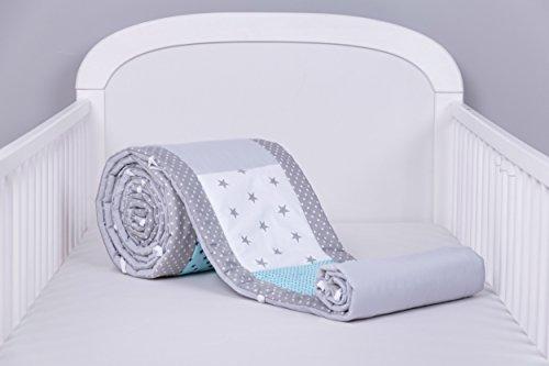 Tour de lit de bébé 420 x 30 cm, 360 x 30 cm, 180 x 30 cm Mix 16