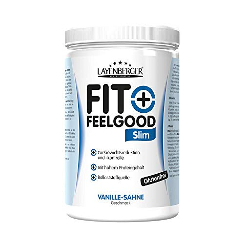 Layenberger Fit+Feelgood Slim Mahlzeitersatz Vanille-Sahne, 1er Pack (1 x 430 g)