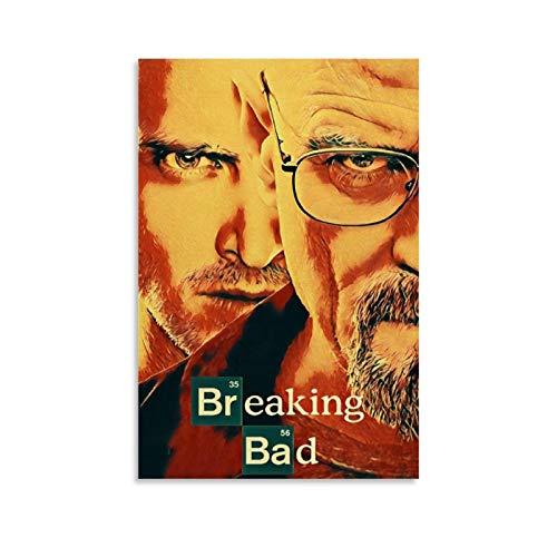 Stampa artistica su tela con 12 film classici di Breaking Bad e Wall Art Poster Modern Family camera da letto Decor poster 30 x 45 cm
