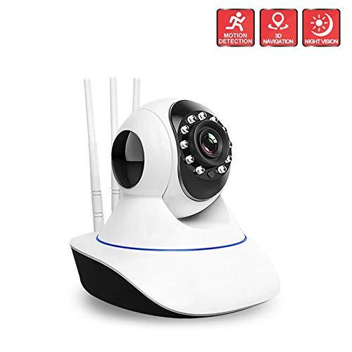 Camera draadloze Wifi HD, AP-hotspot, afstandsbediening, bidirectionele stem, infrarood nachtzicht, mobiele babyfoon met alarmcamera