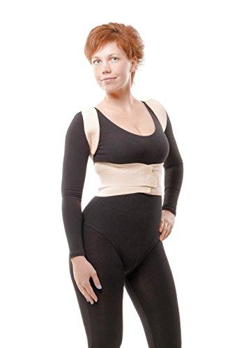 Faja correctora médica ortopédica de soporte de la columna vertebral - Faja cómoda, ajustable y flexible para aliviar el dolor de espalda y corregir la postura de aHeal - Size 3: 89-99 CM; 35-