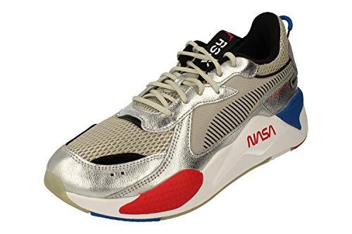 Puma RS X Space Agency Uomo Running Trainers 372511 Sneakers Scarpe (UK 9 US 10 EU 43, puma Silver Grey Violet 01)