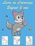 Livre de Coloriage Enfant 2 ans: Cahier Activite 2 ans