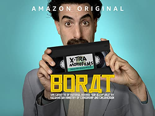 """Borat: VHS Cassette of Material Deemed """"Sub-acceptable"""" By Kazakhstan Ministry of Censorship and Circumcision - Season 1"""