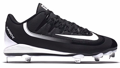 Nike Air Huarache 2K Schmutzes Pro Low Metall Baseball Schuhe Klampen, Schwarz - schwarz - Größe: 41 EU M