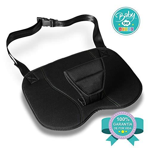 Cintura di sicurezza in gravidanza. Cuscino da auto per donne in gravidanza. Protegge il bambino e la madre. Obbligatorio per mamme incinta. Omologato e regolabile