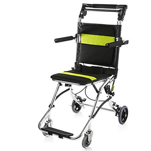 Silla De Ruedas Discapacitados Ancianos Plegables Manuales Ligeros Portátiles Aleación De Aluminio Freno Ortopédico Reposapiés Reposabrazos Súper Ligero Adecuado Para Personas Mayores Para Sentarse