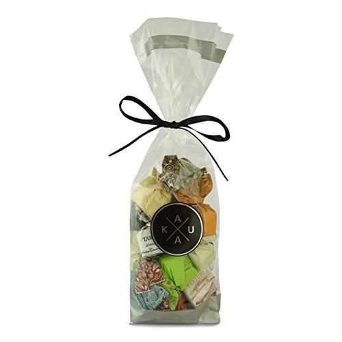 Antica torroneria piemontese tartufo, gemischte Trüffelpralinen, Schokoladen Tartufi Geschenkset von KauKau. 140g