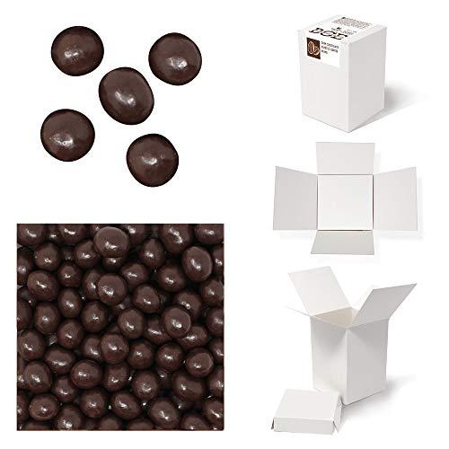 Bulk Gourmet Emporium - Geröstete Kaffeebohnen in dunkler Schokolade, kunststofffrei, vegetarisch und halalfreundlich, Kaffeebohnen mit Schokoladenüberzug, 500 g