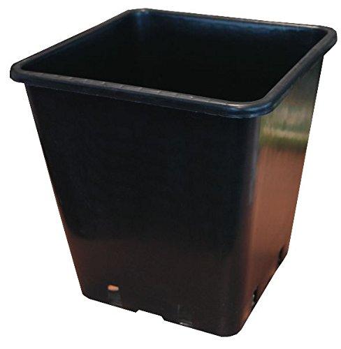 PLANT IT Töpfe Quadratischer,25 cm,11 L, schwarz