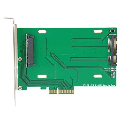 Tarjeta adaptadora PCI-E X4, Adaptador de Red PCI-E 3.0 x4 Lane a U.2 U2 Kit SFF-8639 Adaptador de Host para SSD 750 Series NVMe