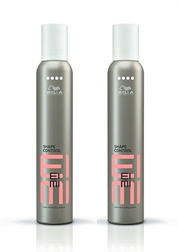 Wella Professionals Eimi Shape Control Styling Mousse DUO Pack 2 x 500ml by Wella Eimi