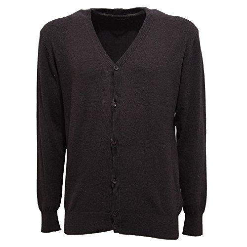 Hamaki-Ho 82606 Cardigan Cotone Maglia magilone Uomo Sweater Men [XXL]