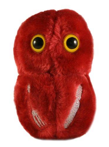 Giantmicrobes - Peluche Microbio gigante - Versión llavero Key Ring Bacteria necrosante (Flesh Eating)