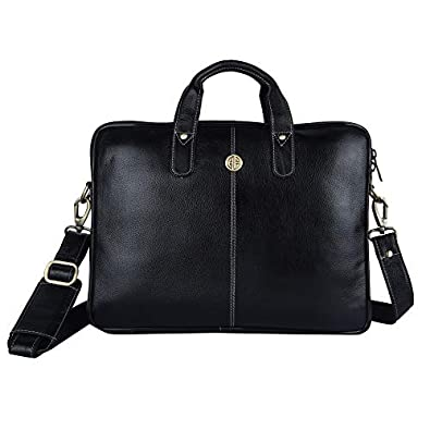 Hammonds Flycatcher Genuine Leather 13 inch Laptop Messenger Bag
