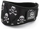 Fitplicity Weight Lifting Belt (Skulls, Small)
