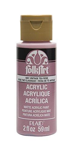 FolkArt Acrylic Paint in Assorted Colors (2 oz), , Vintage Tea Rose