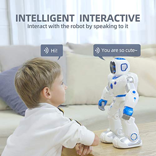 Ruko Smart Robots for Kids, Large Programmable Interactive RC Robot with Voice Control, APP Contol, Present for 4 5 6 7 8 9 Years Old Kids Boys and Girls