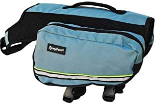 Zippy Paws ZP511 Backpack Dog Packs, Forest Green, Large