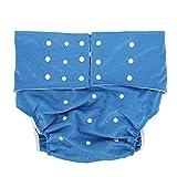 5 Farben Adult Pocket Windel, verstellbar wiederverwendbares Windeltuch Waschbar Schwache...