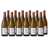 Chablis Vieilles Vignes Les Vénérées Blanc 2018 - Domaine LC Poitout - Vin AOC Blanc de Bourgogne - Cépage Chardonnay - Lot de 12x75cl