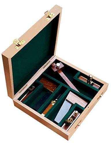 Werkzeugset für Modellbau und Holzbearbeitung – Optimal aufeinander abgestimmte Auswahl – Perfekt für passionierte HANDWERKER – 7-teilig – C341294