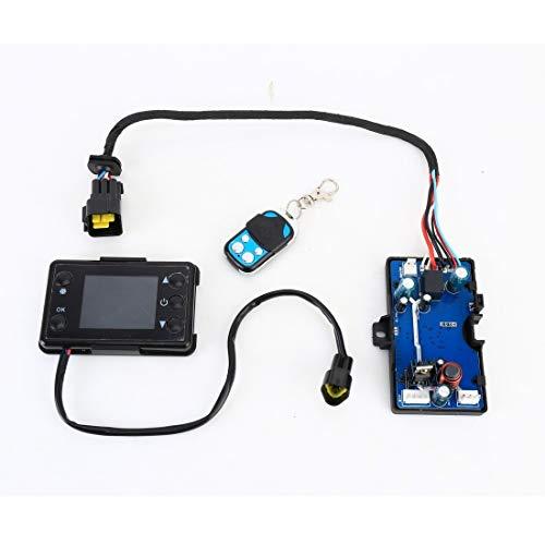 Controlador solar Controlador de la placa base universal 24V plástico ABS de automóviles Aire acondicionado calentador de placa principal con control remoto Pantalla Control +, aire acondicionado del