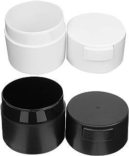 Minkissy Lash Lijm Opslag Container 2Pc Wimper Lijm Opslagtanks Verzegelde Wimpers Extension Lijm Make Opslag Jar Holder L...