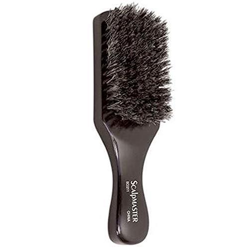 "Scalpmaster SC2211 100% Boar Bristles Club Brush (8 Row,7"")"