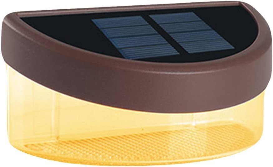 ULTECHNOVO Solar Deck Lights Waterproof Outdoor Step Albuquerque Mall Led wholesale