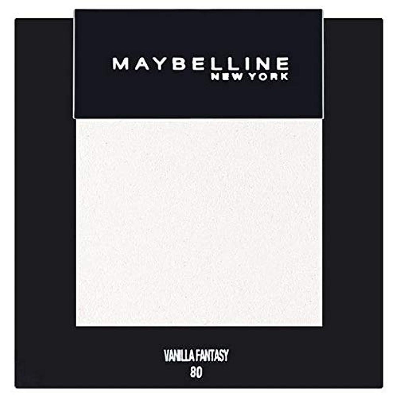 カレッジ気晴らしストレッチ[Maybelline ] メイベリンカラーショーシングルアイシャドウ80バニラ - Maybelline Color Show Single Eyeshadow 80 Vanilla [並行輸入品]