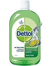 Dettol Liquid Disinfectant Cleaner for Home, Lime Fresh, 1L