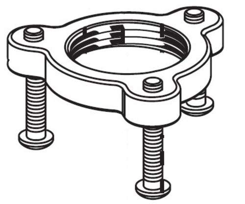American Standard M906667-0070A Mounting Ring for Pekoe Kitchen Faucets, N/A