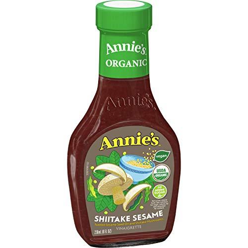 Annie's Shiitake Sesame Vinaigrette Salad Dressing, Non-GMO, 16 fl oz