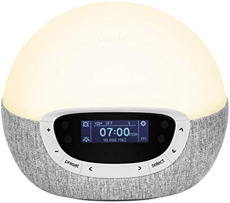 Lumie Bodyclock Shine 300 - Lichtwecker mit Radio, 14 Klngen und Einschlafsonnenuntergang