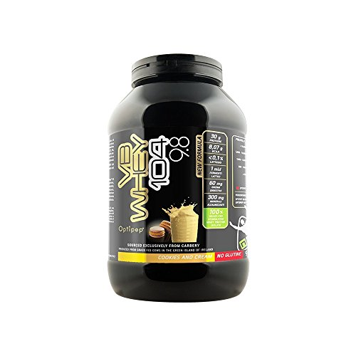VB WHEY 104 9.8  Optipep  Gusto Cookie & Cream  Proteine Isolate Idrolizzate Per Via Enzimatica  900 Grammi