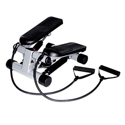 Product Image 7: Sunny Health & Fitness Mini Stepper with Resistance Bands