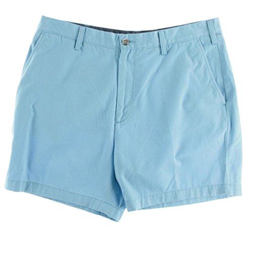 Nautica Men's Twill 6 Inch Short, Castaway Aqua, 38W