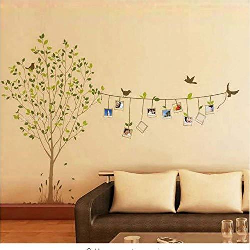Fotos Baum Wandtattoo Home Decoration Art Decor für Wohnzimmer Große Familie Fotorahmen Baum Wandaufkleber