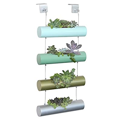 Vertical Garden Succulent Cactus Small Plants Herb Planting Cylinder System Unique Gift Decor