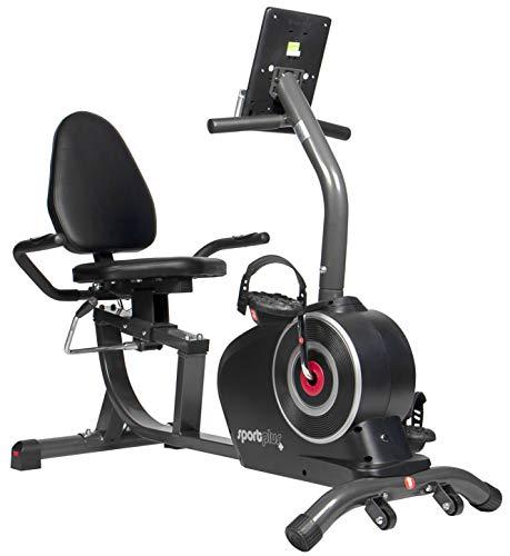 SportPlus SP-RB-9500-iE Bicicleta Estática, Asiento Reclinable, Ordenador,...