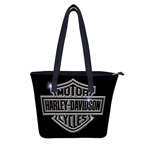 Harley Davidson Handtaschen für Damen, große Ledergeldbörsen für Frauen, Tote Kuriertasche, Umhängetasche.