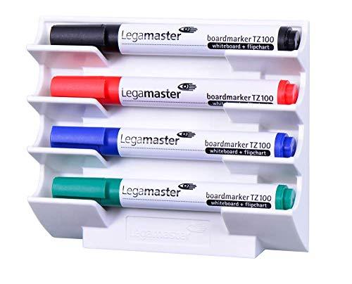 Legamaster 7-122000 Markerhalterung für Whiteboards, magnetisch, weiß