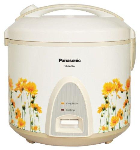 Panasonic SR-KA22A(R) 5.7L Automatic Jar Cooker/Warmer, White