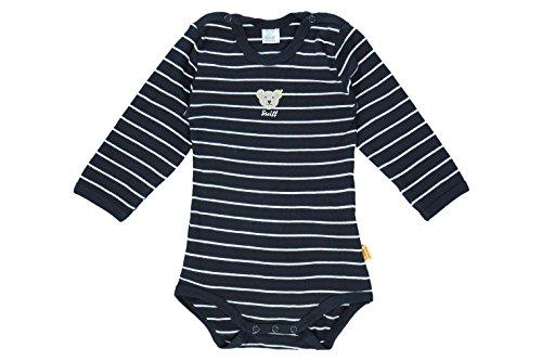 Steiff - mixte bébé - 0008743 Bodysuit 1/1 Sleeves, Bleu (steiff Marine), 3 ans (Taille Fabricant :98)
