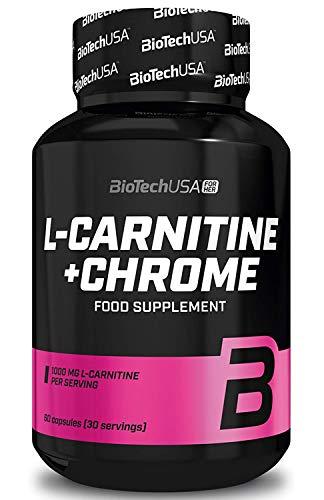 Biotech L-Carnitine + Chrome -L-Carnitina - 60 Cápsulas