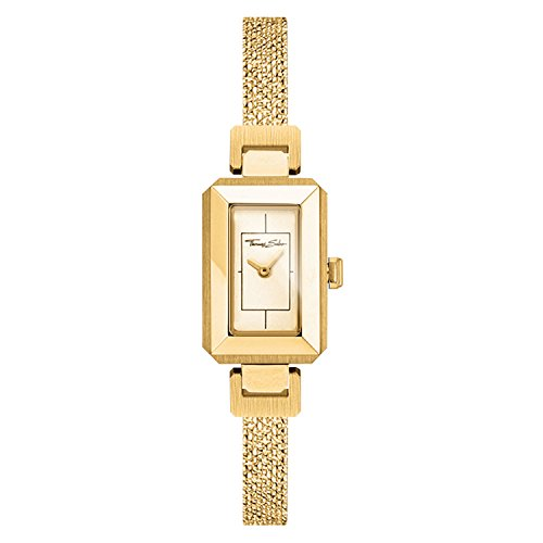 Thomas Sabo Damen-Armbanduhr Mini Vintage gold Analog Quarz WA0299-291-202-38 mm
